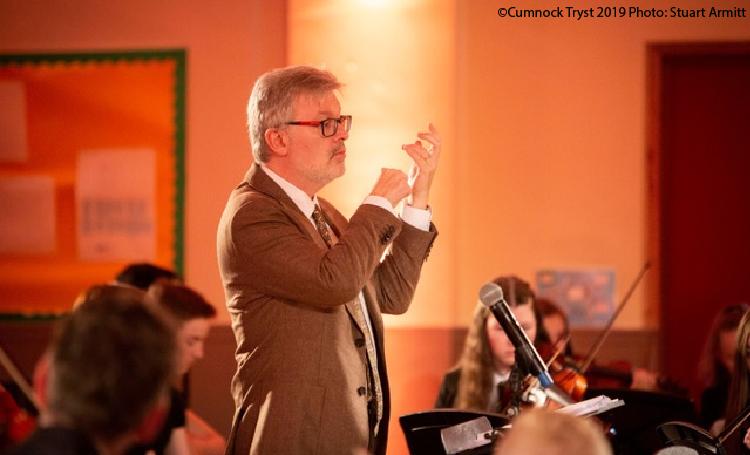 Sir James MacMillan Conducting